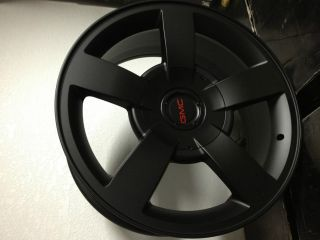 Matte Black Chevrolet Silverado SS Factory Replica Wheels GMC Sierra