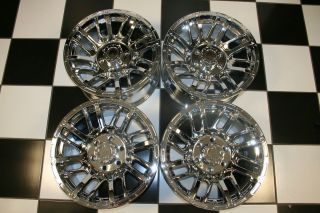 Spurs 17 Chrome F150 Expedition Navigator Wheels Rims Set 4