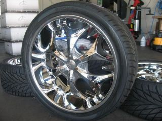 24 Wheels Rims Tires Navigator F150 Expedition Tahoe 22