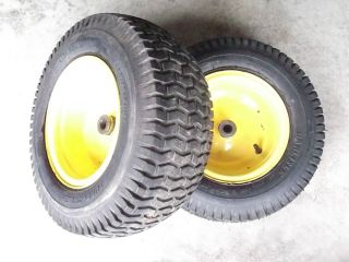 John Deere L120 L130 Front Rims and Tires