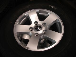 17 Dodge RAM 1500 5 Spoke OE Factory Wheels Rims with Tires