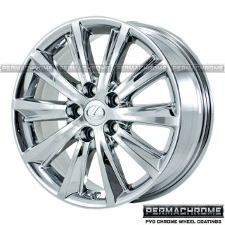 Lexus ES350 Ultra Luxury 17 PVD Chrome Wheels