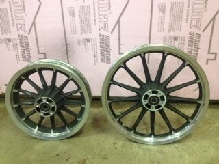 2006 Harley Davidson XL 1200 Sportster Low Front Rear Wheels