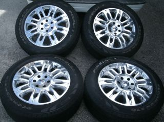 2011 F 150 Platinum 20 OEM Wheels Tires F150 Expedition Factory 275 55