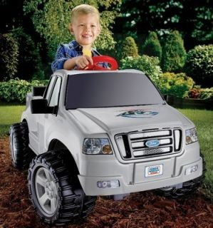 Fisher Price Power Wheels Ford F150 Kids Pick up Truck Battery