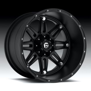 OFFROAD Hostage Wheel SET XD Black 20x9 RIMS FORD CHEVY DODGE WHEELS