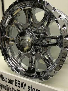 17 inch Chrome Raceline Wheels Rims Ford Super Duty F250 Excursion