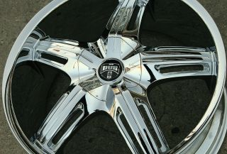 Dub Drone 5 S155 20 Chrome Rims Wheels Audi A5 A6 20 x 8 5 5H 45