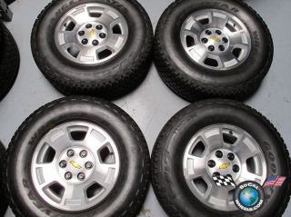 Tahoe Silverado Avalanche Factory 17 Wheels Tires Goodyear HP Rims O