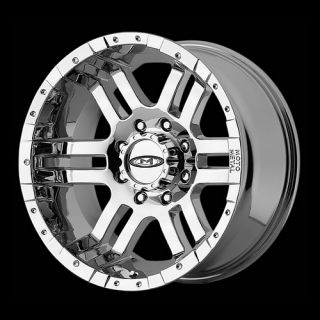 17 Wheels Rims Moto Metal Chrome with 285 70 17 Nitto Terra Grappler