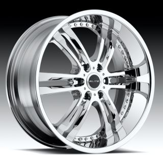 Chrome Wheel Tire Package Rims 5 6 Lug Challenger Camaro