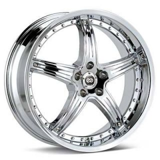 20 Enkei LS 5 Chrome Rims Wheels Mustang Shelby GT500