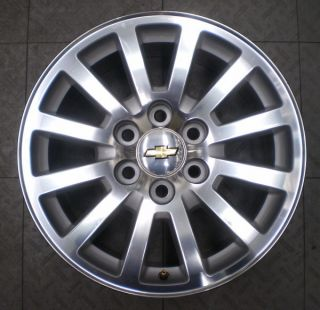 5355 5356 Chevy 1500 Suburban Tahoe 18 Factory OE Alloy Wheel Rim A