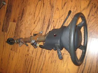 Steering Column Wheel Chevy Tahoe Silverado Suburban GMC with Key and