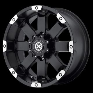 American Racing ATX AX18578088700 Crawl Wheel 17 x 8 Black 8x180