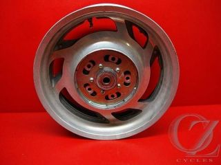 Rear Rim Wheel Straight Valkyrie GL1500CT GL1500 Honda 98 01 Q