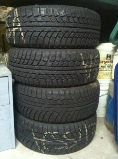 Gislaved Nordfrost 5 Winter Snow Tires 205 55 R16 Mercedes Audi Volvo