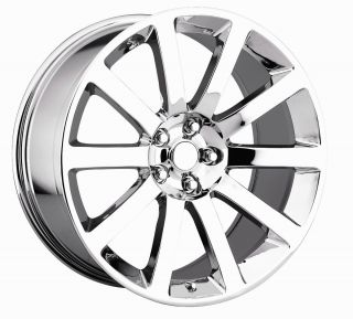 22 Chrome Chrysler 300SRT8 Wheels Tire Fit Dodge Charger Magnum