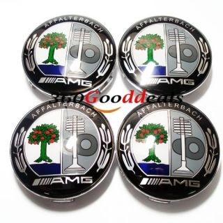 4X Mercedes Benz AMG Wheel Center Hub Cap Emblem SLK ml B C E s CLS