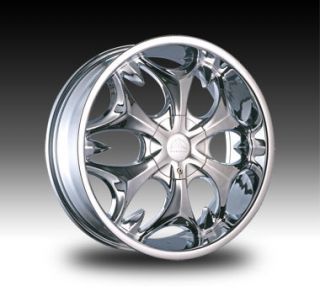 22 Chrome B3S Rim Wheels Tires Dodge RAM Navigator GMC