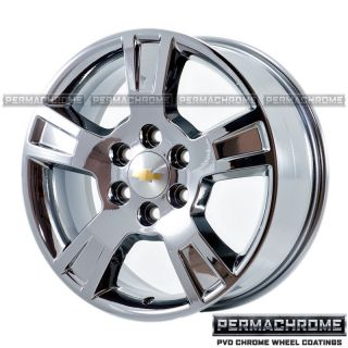 Original GMC Acadia PVD Chrome Wheels 5280 Exchange