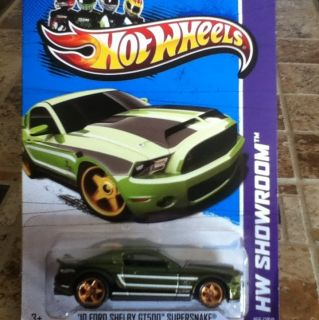 Hot Wheels Super Treasure Hunts 13 2010 Ford Shelby GT500 Supersnake