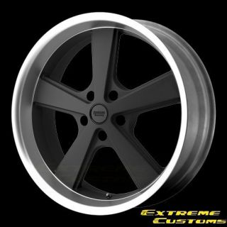 20 x10 American Racing VN701 Nova Mag Gray w Machined Face 5 Lug One