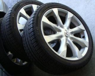 Alloy Wheels Rims Pirelli P6 Tires 245 40 R18 18 5 Lugs Infinity FX