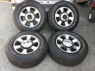 2011 F250 F 250 F350 Superduty 18 Factory OEM Wheels Continental LT275