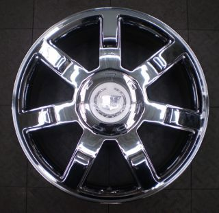 5309 Cadillac Escalade 22 Factory OE Chrome Wheel Rim A
