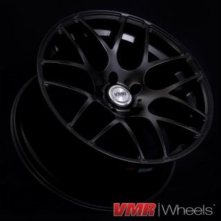 18 inch Matte Black V710 Wheels BMW 3 Series E46 M3 325i 330i