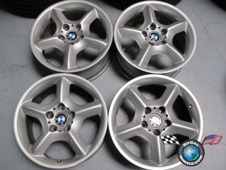 Four 00 06 BMW x5 Factory 17 Wheels Rims 59331 10961593