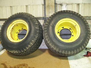 John Deere 400 Rear Tires and Rims