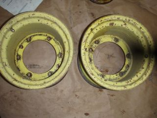 John Deere Rear Wheels 400 Garden Tractor Had 26x12x12 Tires