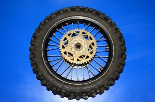CRF450R CRF CR 450 250 rear wheel tire rim hub EXCEL bearing spokes 18