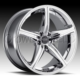 FOOSE Car Truck Wheel Rim Speed Chrome 19 inch 5 Lug
