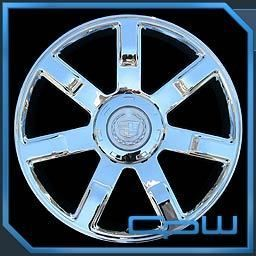 SET OF 4 NEW WHEELS RIMS FIT CADILLAC ESCALADE 24 INCH CHROME OE STYLE