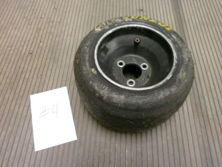 Go Kart Black Wheel and Dunlop Tire 11 x 5 00 6