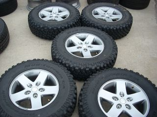 17 Jeep Wrangler Wheels Tires Rims Rubicon Sahara Sport BFGoodrich