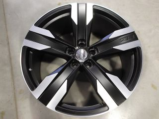 CAMARO ZL1 REPLICA STAGGERED BLACK WHEELS RIMS 22X8 5 22X10 5X120 SS