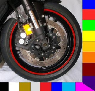Rim Stripe Wheel Decal Tape Suzuki GSXR 600 750 1000 GS