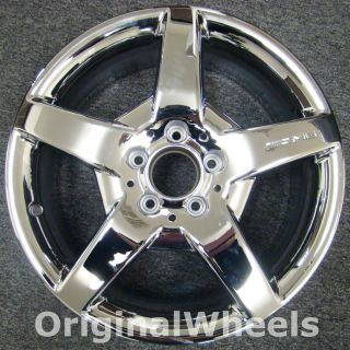 Chrome AMG Mercedes CLK500 Wheel 5 Spoke Rim H 65355 MPN A1714011402