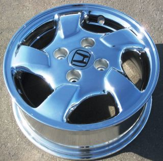 15 1998 00 Factory Honda Accord Chrome Alloy Wheel Rim 63775 1 Single