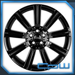 22 STORMER II GLOSS BLACK WHEELS RIMS FITS LAND ROVER RANGE ROVER LR4