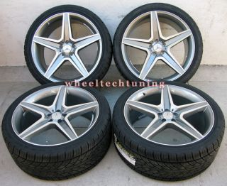 Benz Wheel and Tire Package Rims Fit MBZ GL350 GL450 and GL550