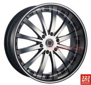22 Redsport RSW77B Wheels Rims Tahoe Escalade Silverado Wheels