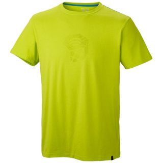 Mountain Hardwear Crimper T Shirt   Short Sleeve (For Men)   ACID GREEN (L )