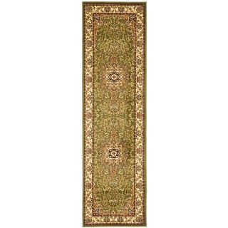 Lyndhurst Collection Traditional Sage/ivory Runner (23 X 12) (GreenPattern OrientalMeasures 0.375 inch thickTip We recommend the use of a non skid pad to keep the rug in place on smooth surfaces.All rug sizes are approximate. Due to the difference of mo