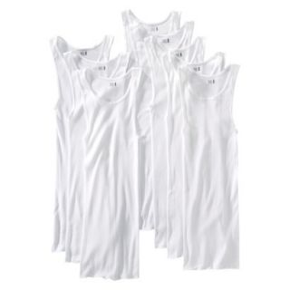 Fruit of the Loom Mens A Shirt 8Pack   White XXL