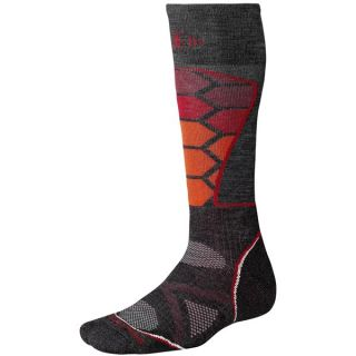 SmartWool PhD Ski Socks   Merino Wool (For Men and Women)   BLACK (M )